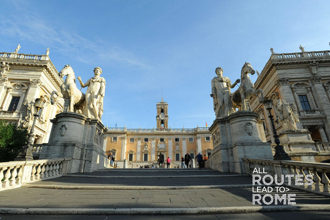 Conferenza Stampa di presentazione di All routes lead to Rome 2019 a Roma in Campidoglio